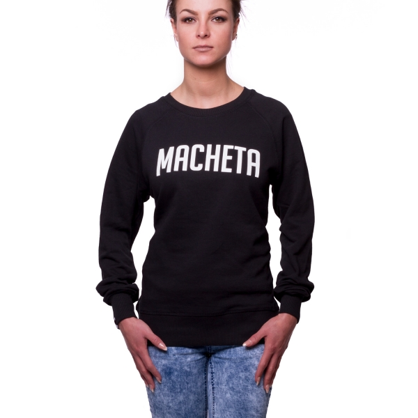 Basic Logo Sweater, Unisex - Black