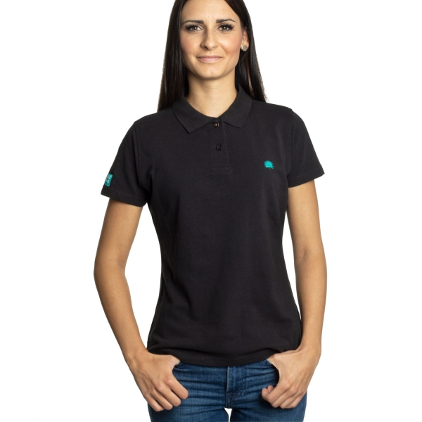 Tropical Thunder Polo, Girls - Black
