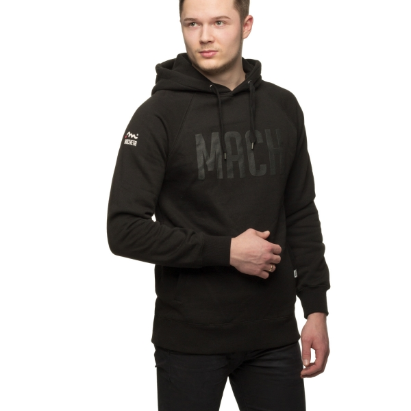 Black On Black Hoody, Unisex - Black