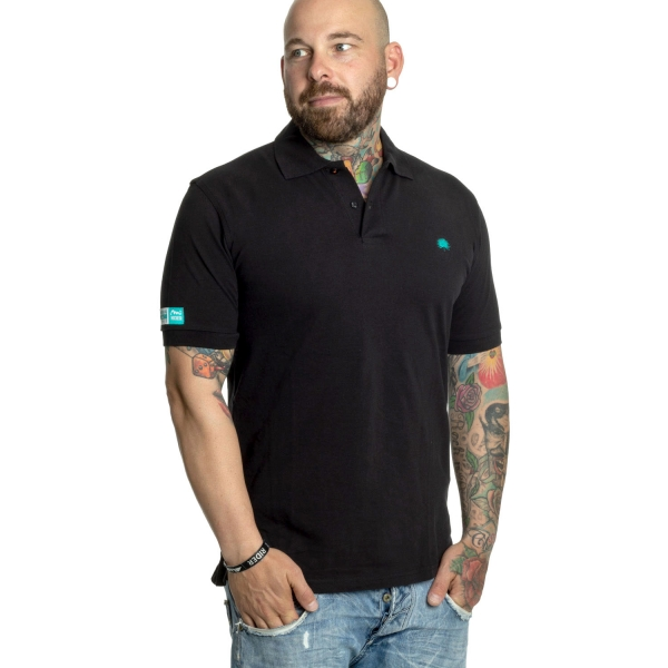 Tropical Thunder Polo, Boys - Black